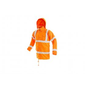 Pánska reflexná bunda CAMBRIDGE, oranžová