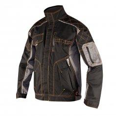 Monterková bunda VISION, čierno-sivá