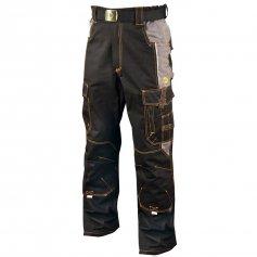 Monterkové nohavice VISION, čierno-sivé