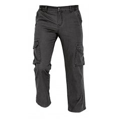 Pánske zateplené nohavice RAHAN, čierne