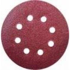 Brúsny papier kruhový 125mm,zrnitosť 120,5ks