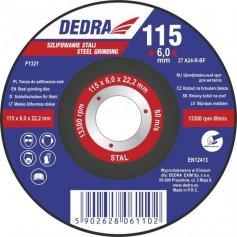 Kotúč rezný na oceľ 125x6x22,2 mm