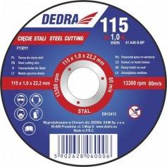 Kotúč rezný na oceľ 125x1x22,2 mm