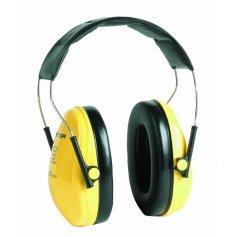 Mušľové chrániče sluchu H510A-401-GU OPTIME I SNR 27 dB