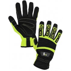 Kombinované rukavice YEMA s blistrom