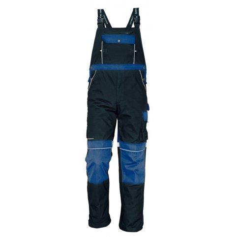 STANMORE nohavice s náprsenkou modré