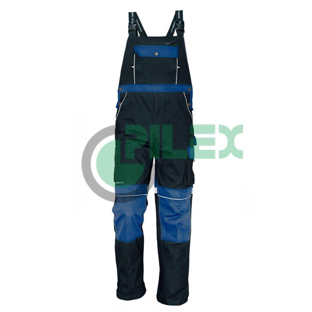 fff7aa6c37fe STANMORE nohavice s náprsenkou modré