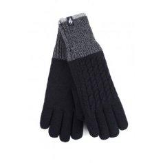 HEAT HOLDERS Dámske rukavice S/M , termo, čierne