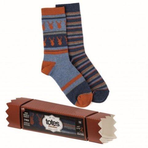 HEAT HOLDERS Pánske ponožky, 2 páry v salonke (darčekové balenie)