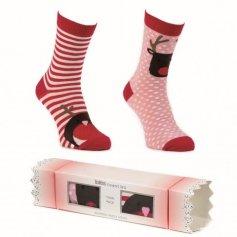 HEAT HOLDERS Dámske ponožky, 2 páry v salonke (Darčekové balenie)