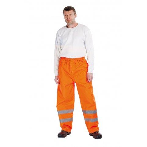 Nepremokavé nohavice GORDON s reflexnými pruhmi, oranžové