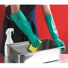 Chemické rukavice SOL-VEX 37-185