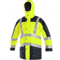 Pánska reflexná bunda LONDON 5v1, žlto- modrá
