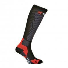Funkčné kompresné ponožky Compression, -10/+15°C, čierne, XTECH