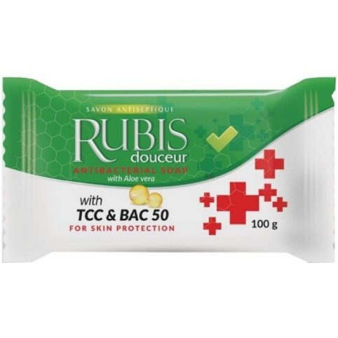 Antibakteriálne mydlo RUBIS, 100g