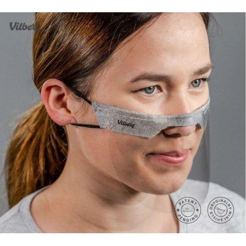 Mini štít na tvár (2ks v balení)