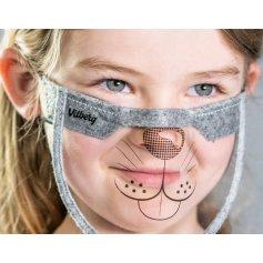 Mini štít na tvár, detský s potlačou (2ks v balení)