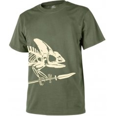 Tričko Chameleon Helikon, Olivové, 2XL