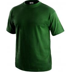 Pracovné tričko DANIEL, fľaškovozelené