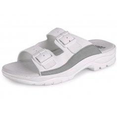 Zdravotnícka obuv BEA šlapky, biele
