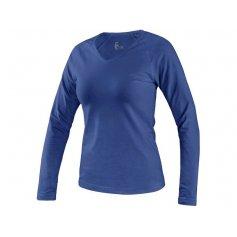 Dámske tričko MARY s dlhým rukávom, královská modrá