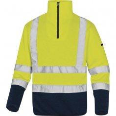 Mikina MARMOT fleece, žlto-modrá, reflexná