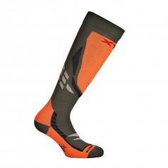 Funkčné ponožky X-Orange, -15/+10°C, zeleno-oranžové, XTECH