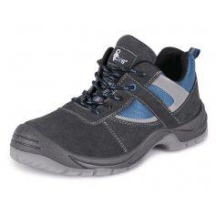 Členková obuv DOBRMAN S1, šedo-modré