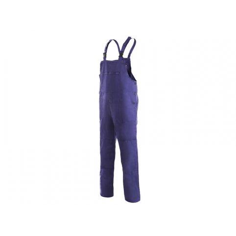 Pánske nohavice na traky FRANTA, modré