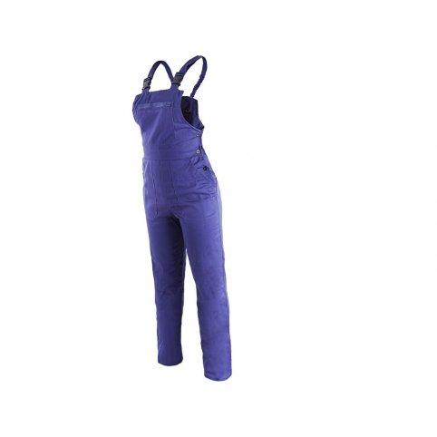 Dámske nohavice na traky YVONA, modré