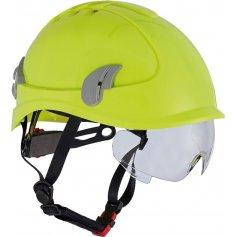 Prilba AlpinWorker s ventiláciou, HI-VIS žltá