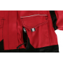 Dámska blúza CXS LUXY DIANA, červeno-čierna