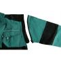 Dámska blúza CXS LUXY DIANA, zeleno-čierna