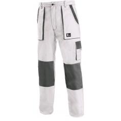 Pánske nohavice CXS LUXY JOSEF, bielo-sivé