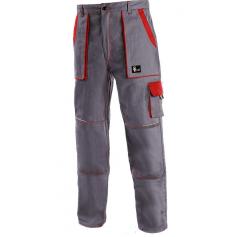 Pánske nohavice CXS LUXY JOSEF, sivo-červené