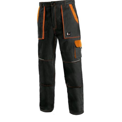Pánske nohavice CXS LUXY JOSEF, čierno-oranžové