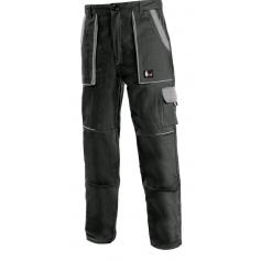 Pánske nohavice CXS LUXY JOSEF, čierno-sivé