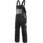 Nohavice na traky CXS LUXY ROBIN, čierno-sivé