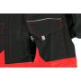 Pánska kombinéza CXS LUXY ROBERT, čierno-červená