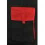 Pánska predĺžená kombinéza CXS LUXY ROBERT, čierno-červená