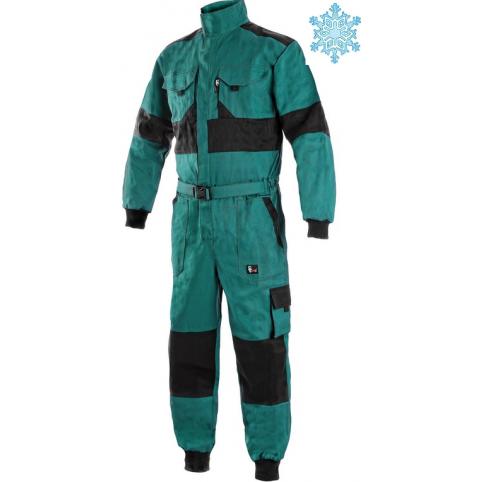 Pánska zimná kombinéza CXS LUXY ALASKA, zeleno-čierna
