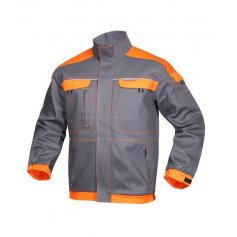 Monterková bunda COOL TREND, sivo-oranžová