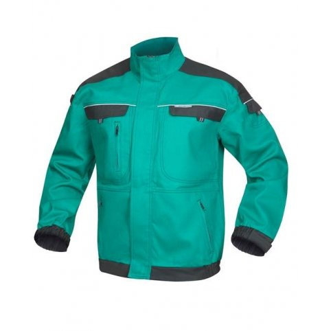 Monterková bunda COOL TREND, zeleno-čierna