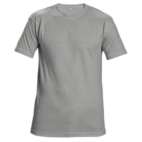 Tričko TEESTA s krátkym rukávom, sivé