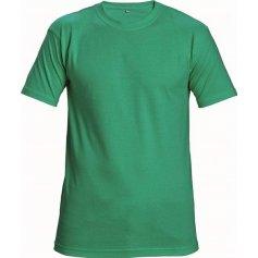 Tričko TEESTA s krátkym rukávom, zelené