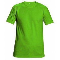 Tričko TEESTA s krátkym rukávom, limetkové