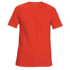 Tričko TEESTA s krátkym rukávom, červené