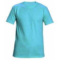 Tričko TEESTA s krátkym rukávom, nebesky modré