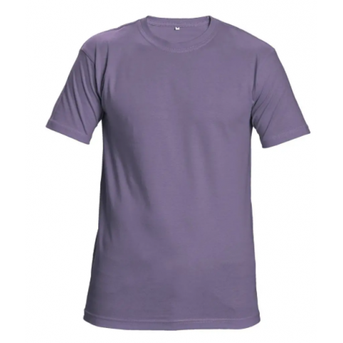 Tričko TEESTA s krátkym rukávom, bledo fialové