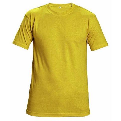 Tričko TEESTA s krátkym rukávom, žlté